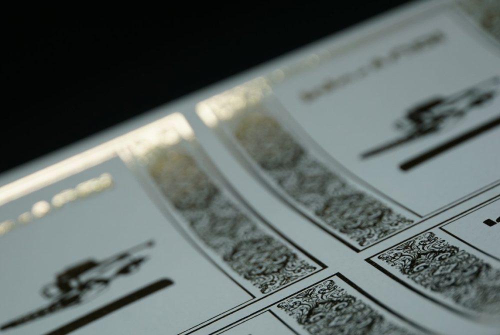 Labels-gold-foiling