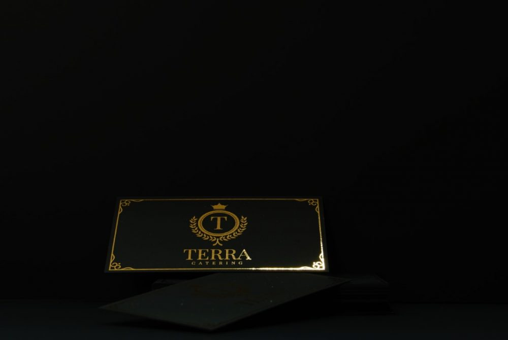 black-business-card-with-gold-foil