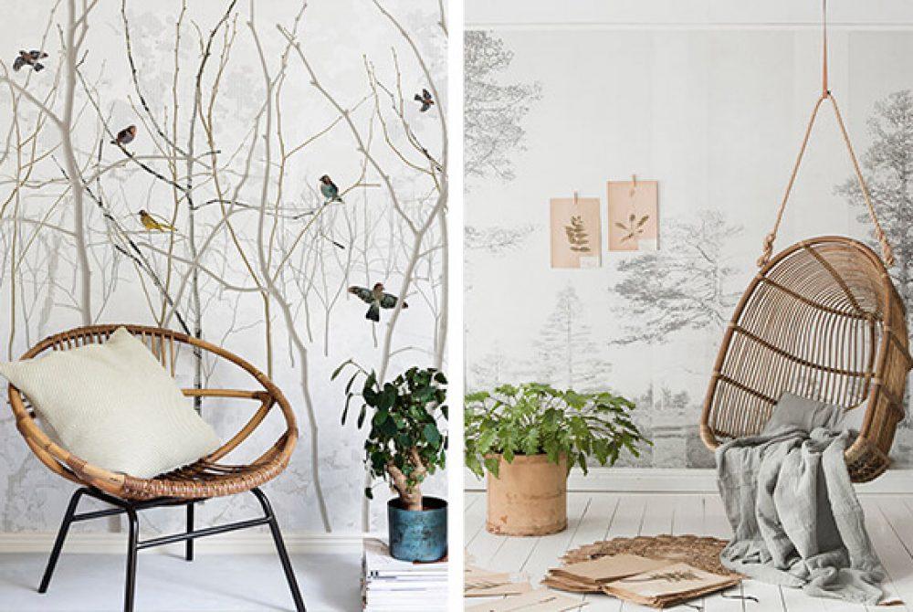 printed-wallpaper-living-room