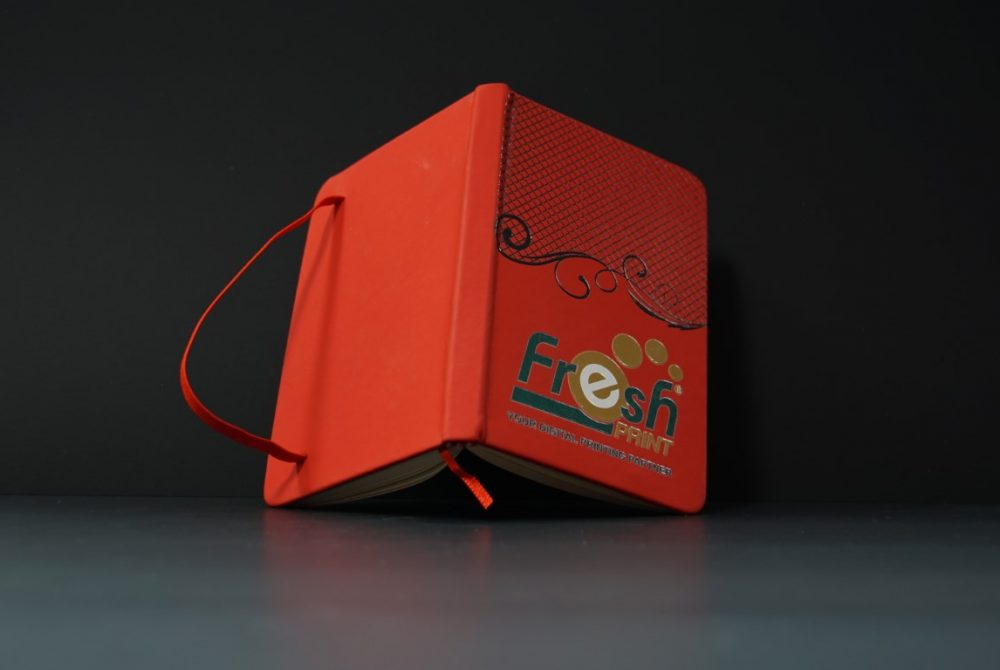 red-notebook-open